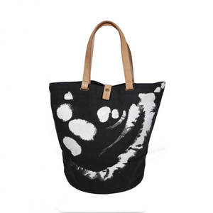 Sora and Michael Green's Original Design Canvas Tote (Charcoal)