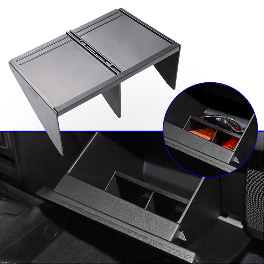 Center Console Storage Box Modified Compartment Partition for Jeep Wrangler JL 2018 2019 2020 by XBEEK