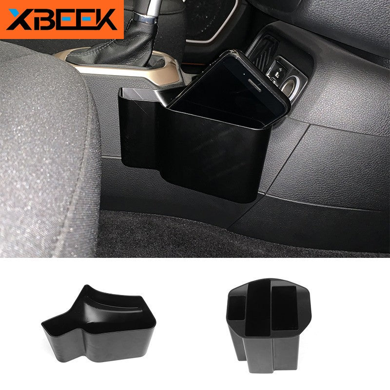 Cup Holder Storage Box ABS Gear Storage Box Organizer Tray for Jeep Renegade 2015-2018 by XBEEK