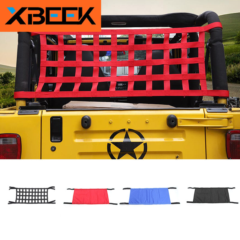 Roof Hammock Waterproof Bed Rest Hammock for Jeep Wrangler YJ TJ JK JKU 1987-2018 by XBEEK