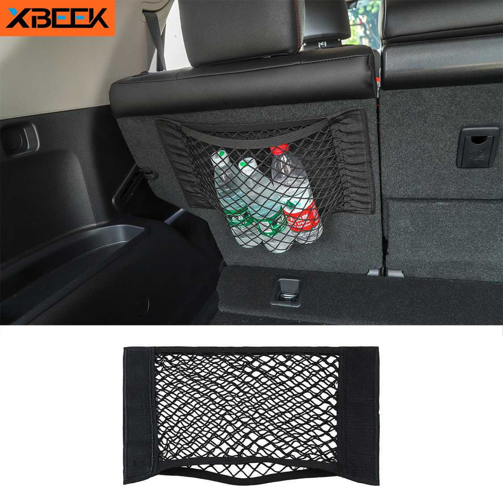 Car Mesh Bag Organizer Universal Storage Net Holder Pocket for Jeep Styling Accessories by XBEEK
