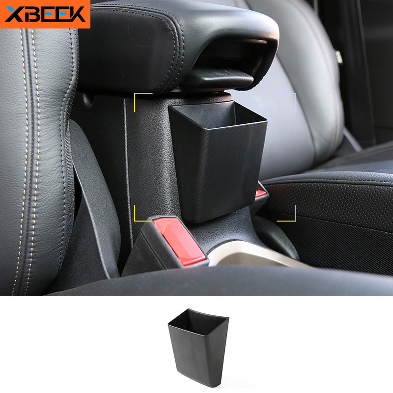 Armrest Storage Box Mobile Phone Center Console Box Holders ABS Interior for 2015-2016 Jeep Renegade by XBEEK