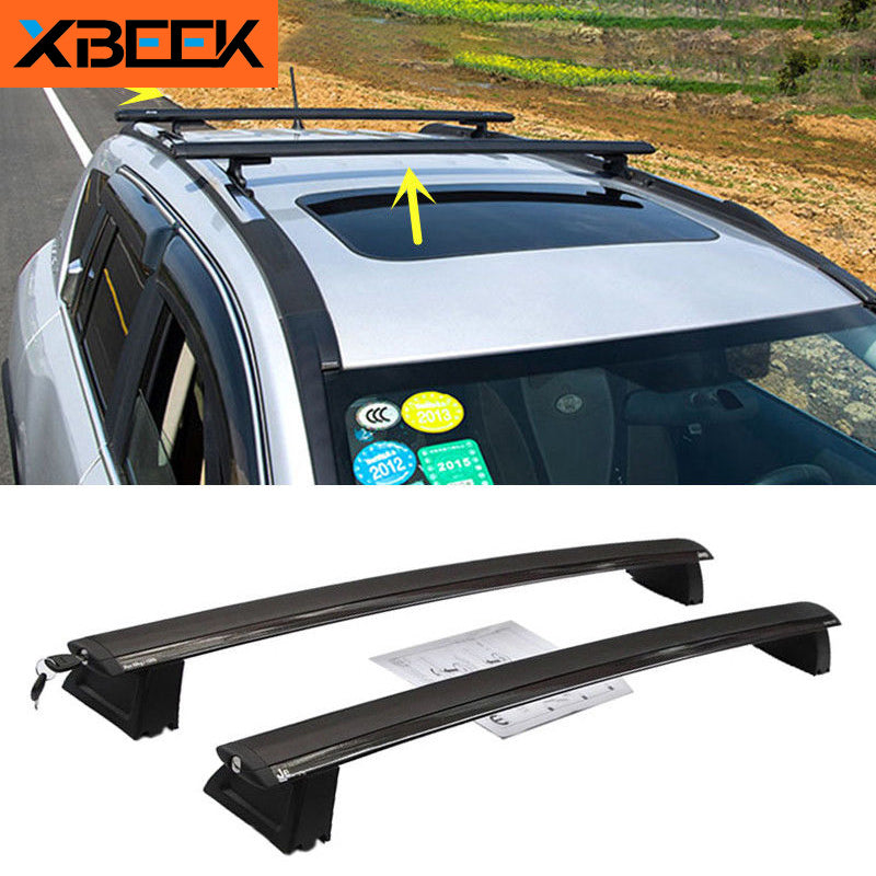 Roof Racks Aluminum Alloy Roof Luggage Rack Cross Bars for Jeep Grand Cherokee 2011-2016 by XBEEK