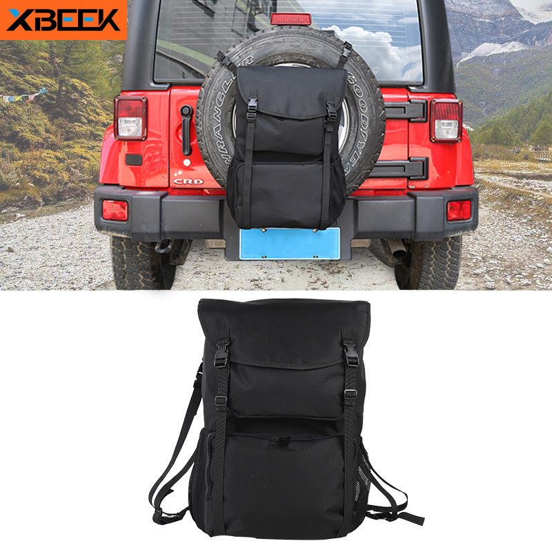 Spare Tire Bag Multi Functional Camping Tool Storage Bag for Jeep Wrangler TJ JK JL by XBEEK