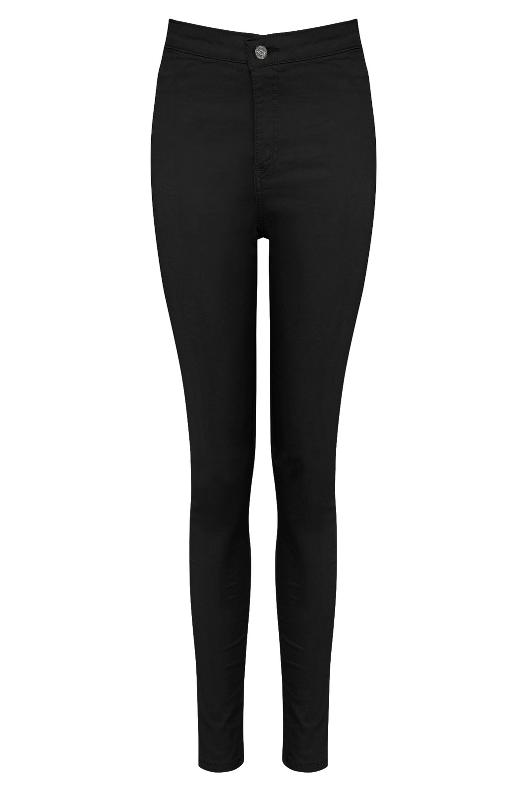 Stretchy Black High Waisted Jeans