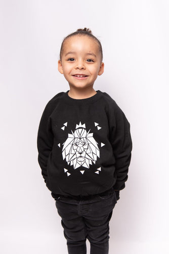 Geometric Lion Sweatshirt