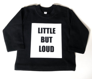 Little But Loud Kids Long Sleeve Tee