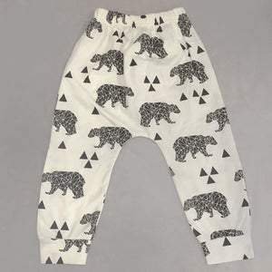 Baby Toodler Geo Bear Leggings