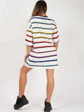 Load image into Gallery viewer, Rainbow Oversized Boyfriend Tee