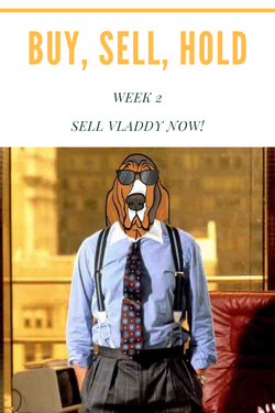 Buy, Sell, Hold - Week 2 - Sell Vladdy & Think Big City QBs