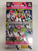 2020 Rookies & Stars Football 1 Hobby Box Random Team Break (2 Teams)