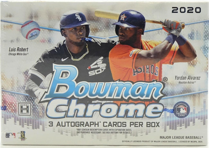 2020 Bowman Chrome Baseball HTA Choice Box