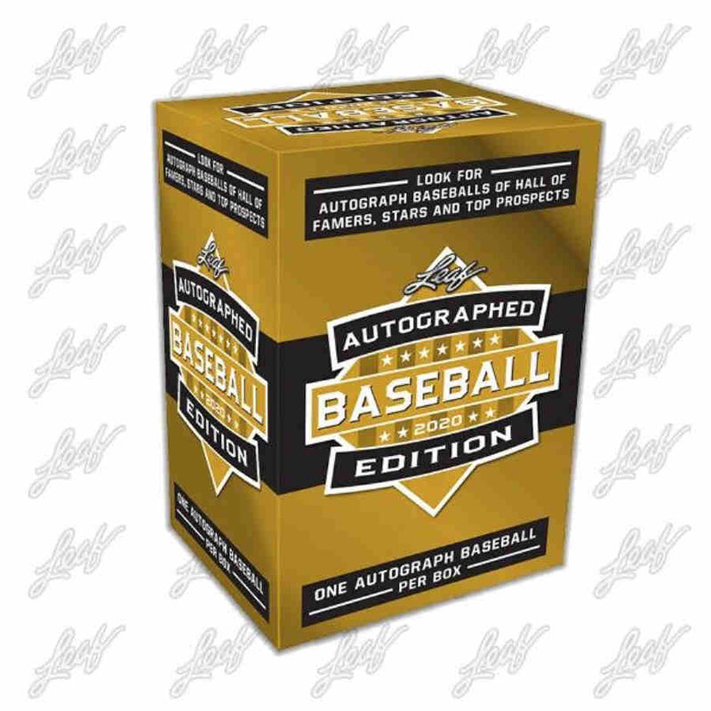 2020 Leaf Autographed Baseball 1 Box Random Division Break