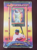 LIVE PACK BREAK 1994 Topps Finest Baseball Series 1