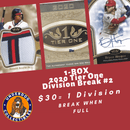 2020 Tier One 1 Box Random Division Break