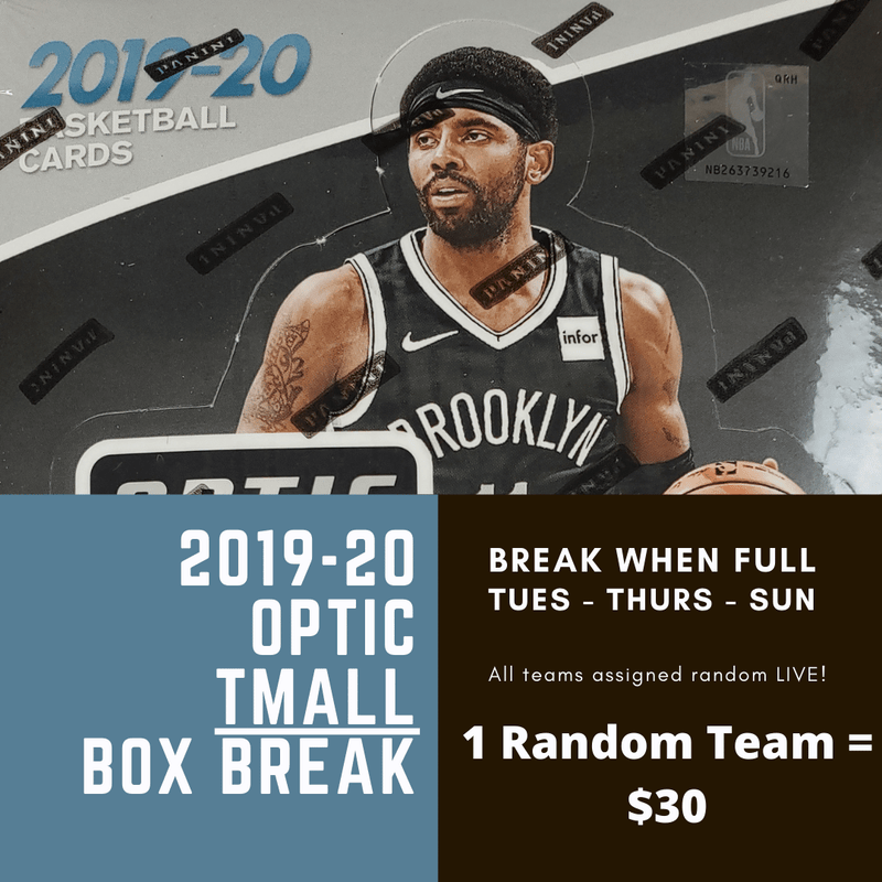 2019-20 Optic Basketball TMALL 1-Box Random Team Break