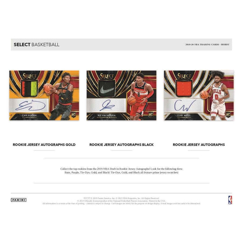 2019-20 Panini Select Basketball Hobby