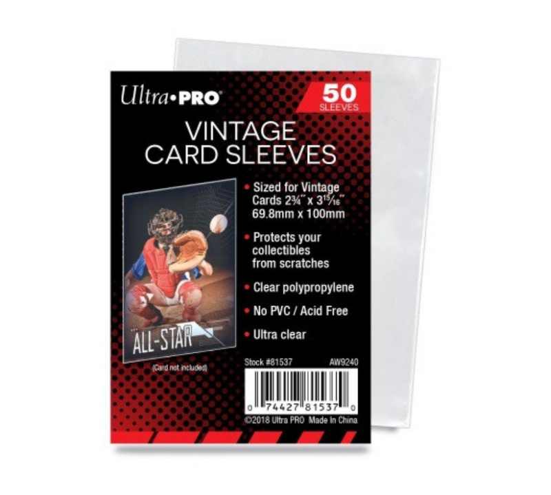 Ultra Pro - Soft Sleeves