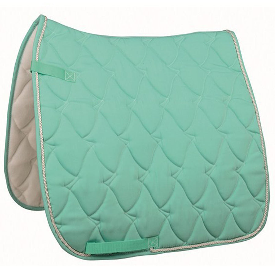 HKM Saddle Cloth Cassandra Softice Milky Aqua Silver