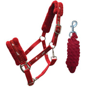 White Horse Equestrian Horsey Plus Headcollar Red