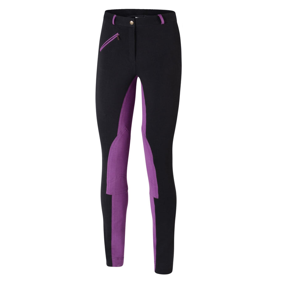 Bow & Arrow Day Jodhpurs Black/Purple