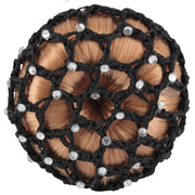 Horka 'Knot Net Strass' Competition Accessories Black