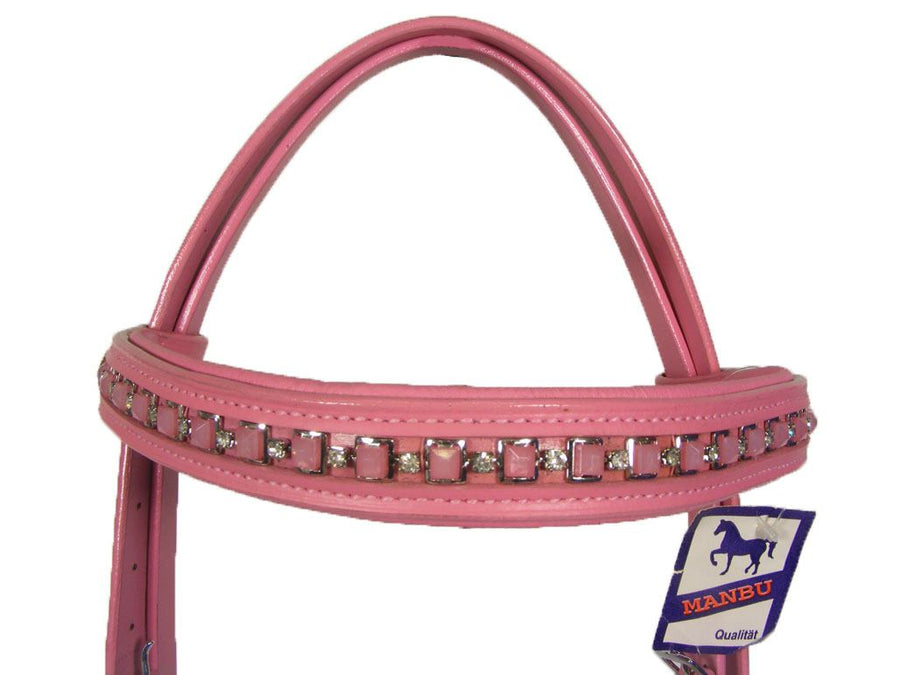 Best On Horse Strass Bridle Pink