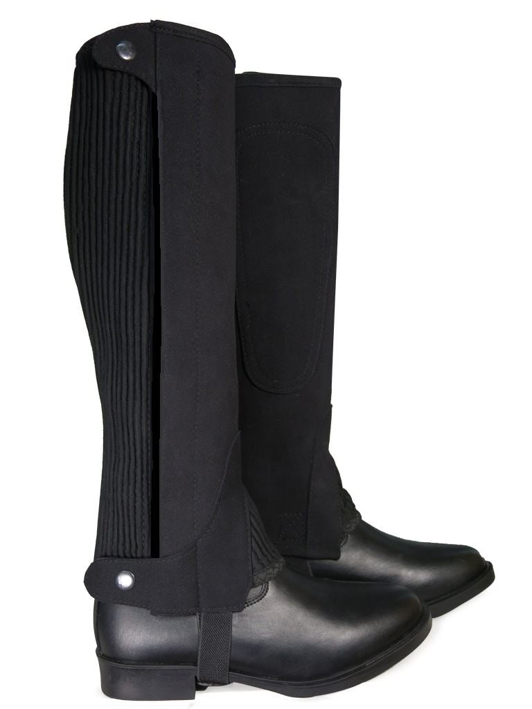 Riders Trend Two Tone Chaps Black