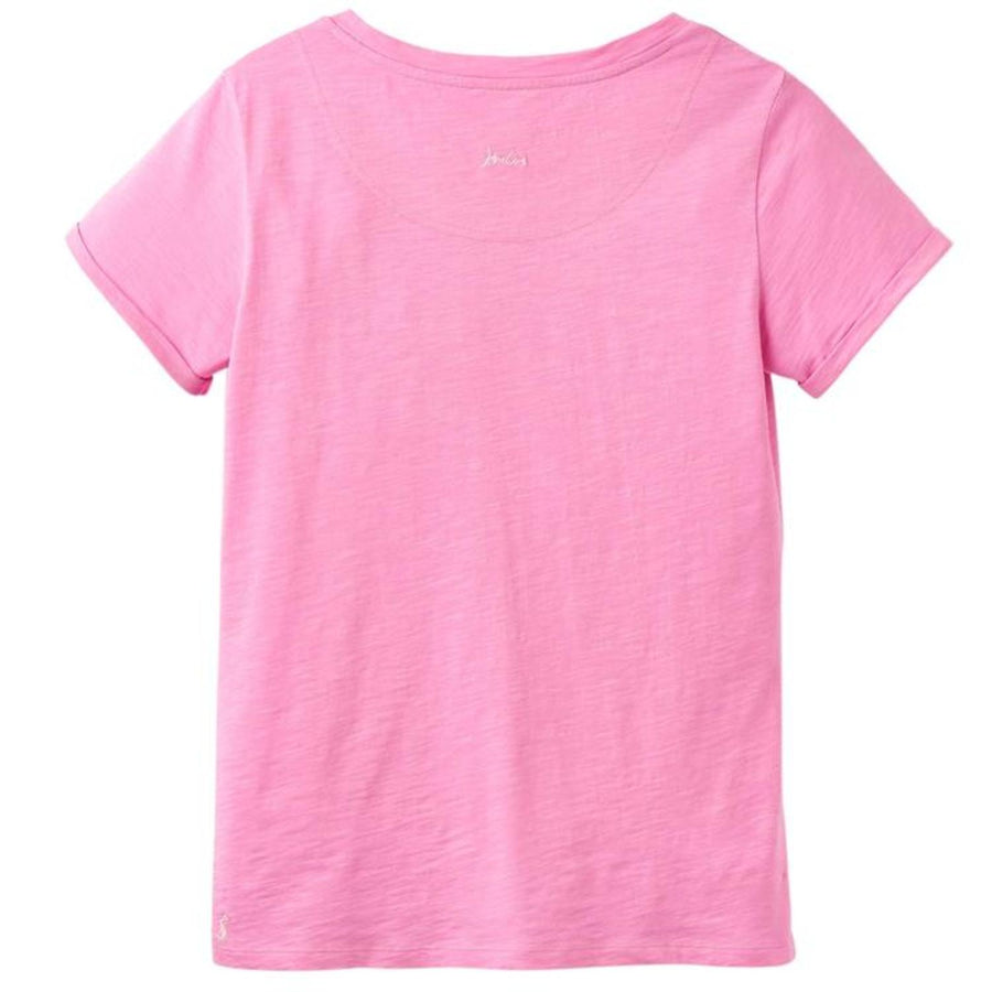 Joules Nessa Jersey Top Light Pink