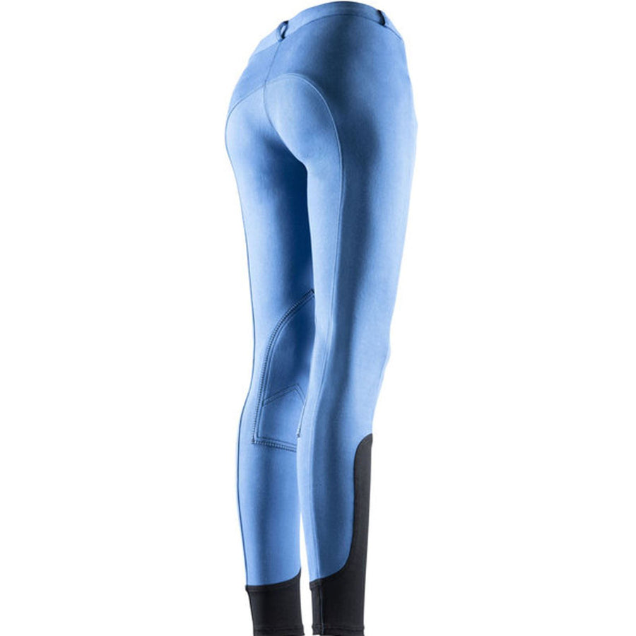 Equi-Theme Pro Kids 'Fun Line' Breeches Royal Blue/Black