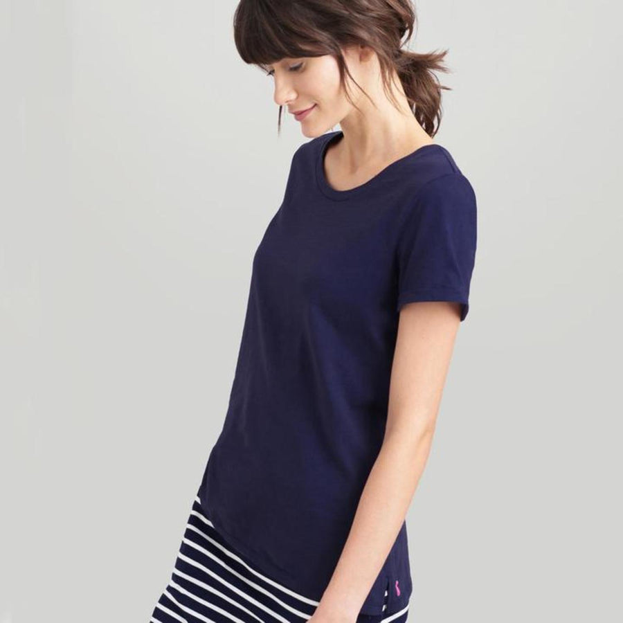 Joules Nessa Jersey Top French Navy