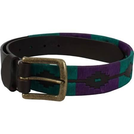 Shires Ladies Moreno Polo Belt Purple and Green