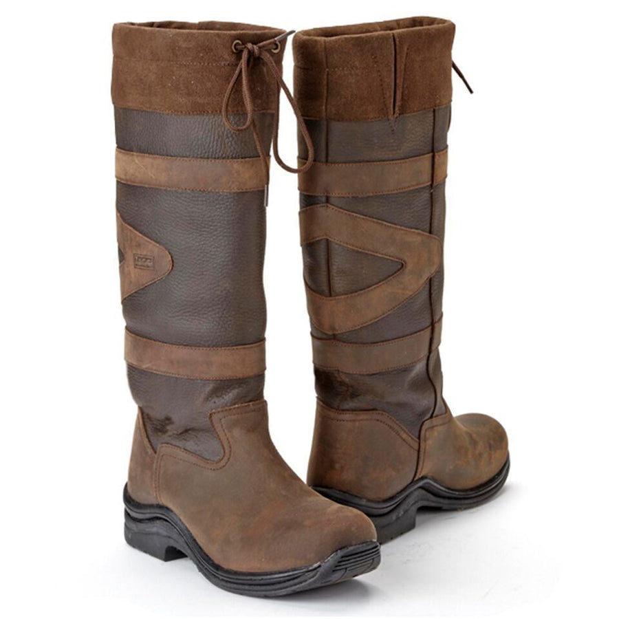 Toggi Ladies 'Canyon' Long Riding Boots Brown
