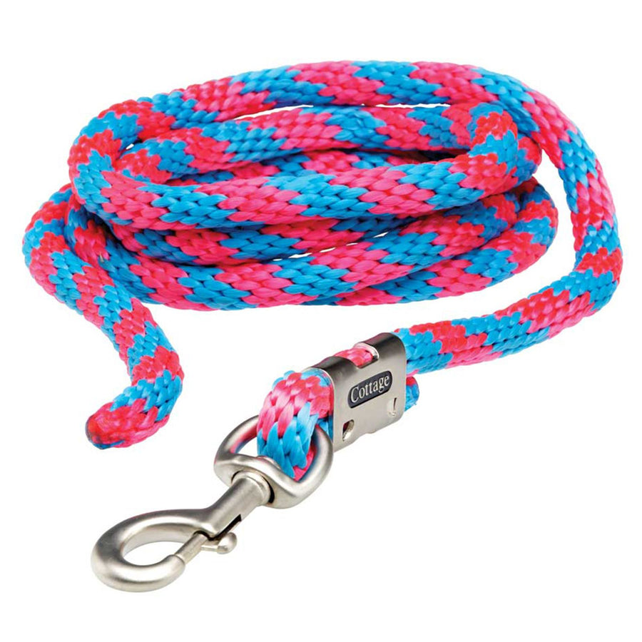 R97 Cottage Craft Multi Coloured Smart Lead Rope Pink/Blue