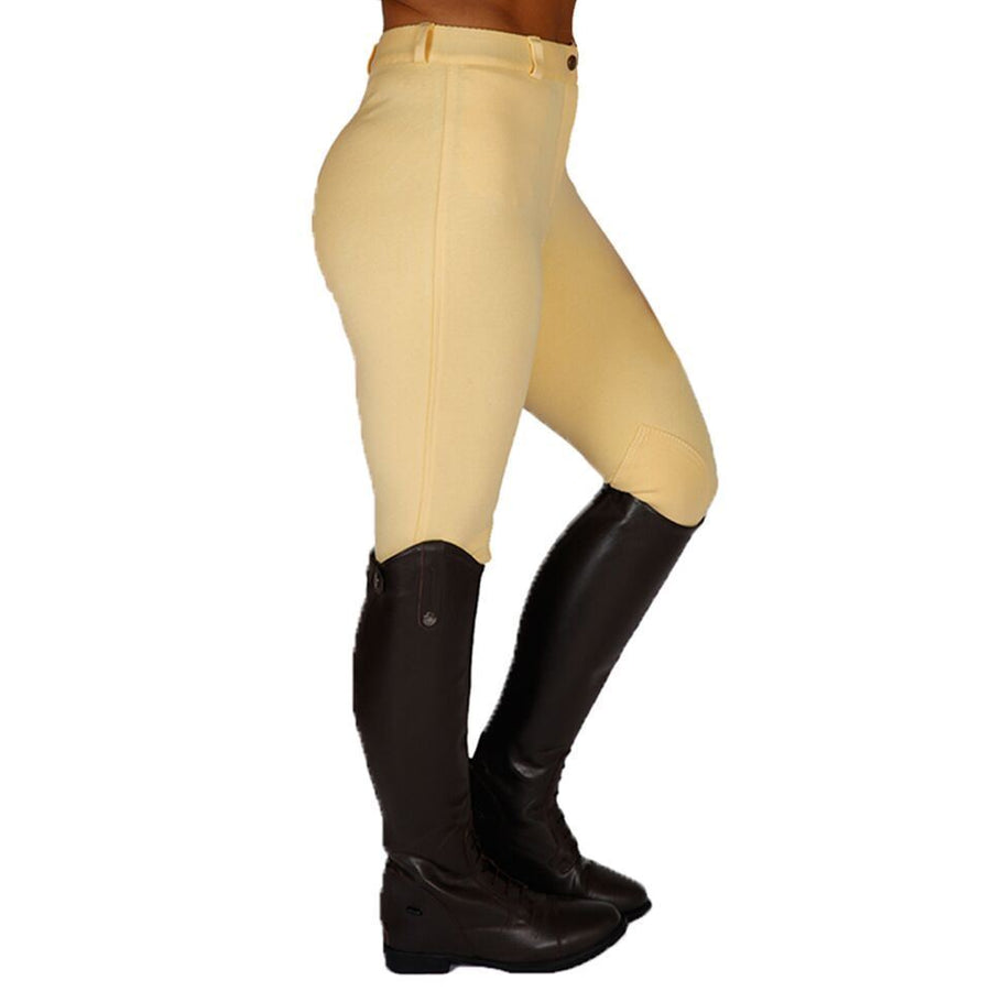 Best on Horse Knitted Breeches Women Canary Yellow