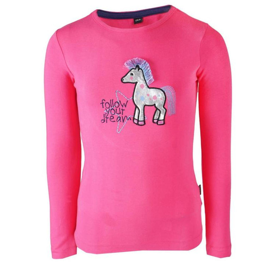 Horka Girls Nikki T-Shirt  Hot Pink