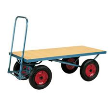 Stubbs Four Wheel Flat Platform Trolley S2109