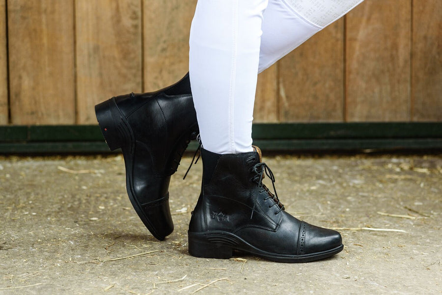 Bow And Arrow Drayton Laced Jodhpur Boot Black