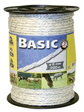 Basic Fencing Rope c/w Copper Wires x 200m