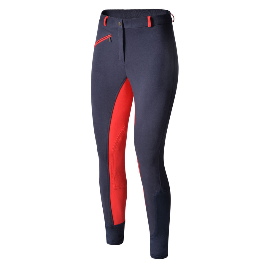 Bow & Arrow Day Breeches Navy/Red