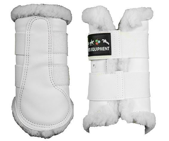 HKM 8585 Protection Boots White