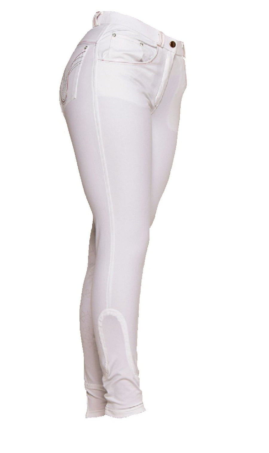Bow & Arrow Micro Silicone Breeches White