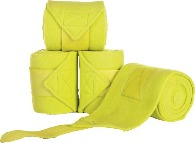 HKM Polar Fleece Bandages Pistachio