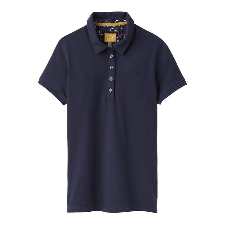 Joules Pippa Ladies Polo Shirt Z French Navy