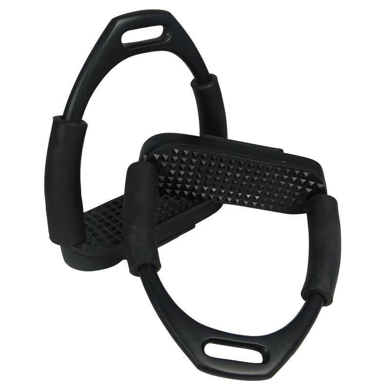 Best On Horse Apna Multi Flexi Stirrups Black