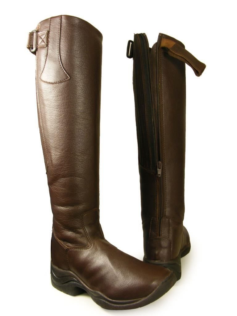 Lava Nevada Synthetic Leather Boots Brown