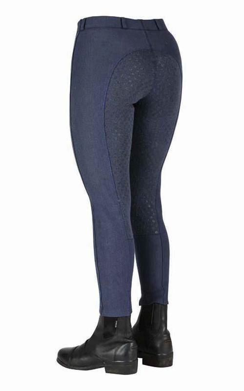 Dublin Performance Warm It Gel Riding Tights Jodhpurs Navy