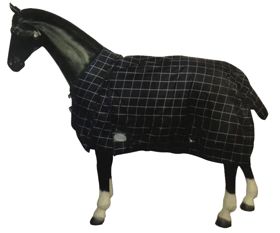 White Horse Equestrian Hurricane 200g No Neck Turnout Rug Navy