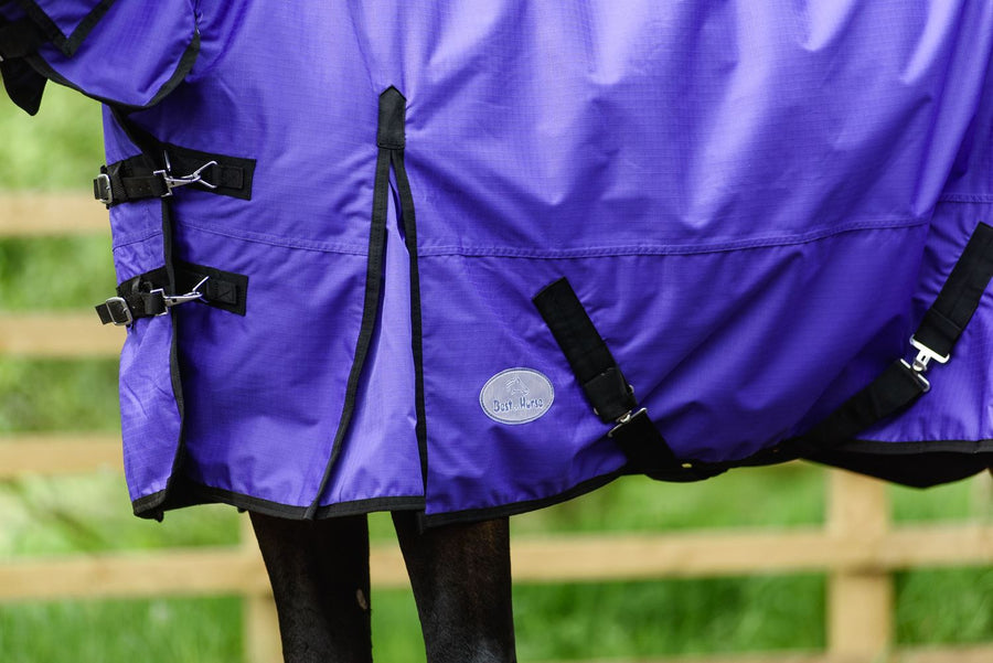 Best on Horse 180915 Lightweight Rug Purple