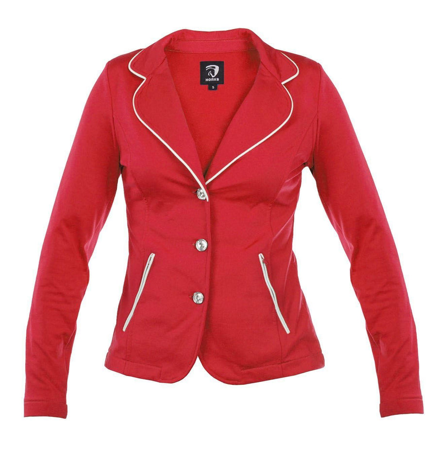 Horka Jnr 'Soft Shell' Competition Jackets Red